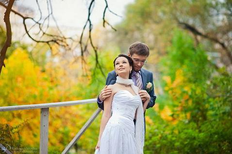 свадебные фотосессии осенью  свадебная фотосессия осенью