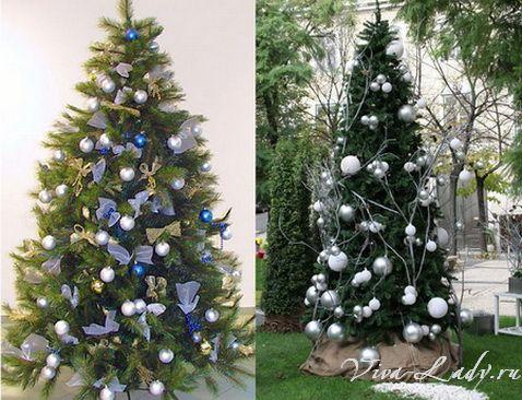 Идеи украшения елки своими руками