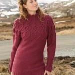 вязание платья с описанием