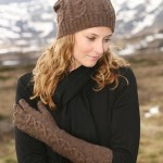шапка женская спицами