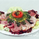 красивая мясная нарезка фото