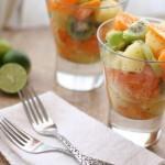 Десертный фруктовый салатик