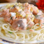 Семга в сливочном соусе: рецепт с фото