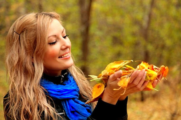 идеи для фото осенью на улице