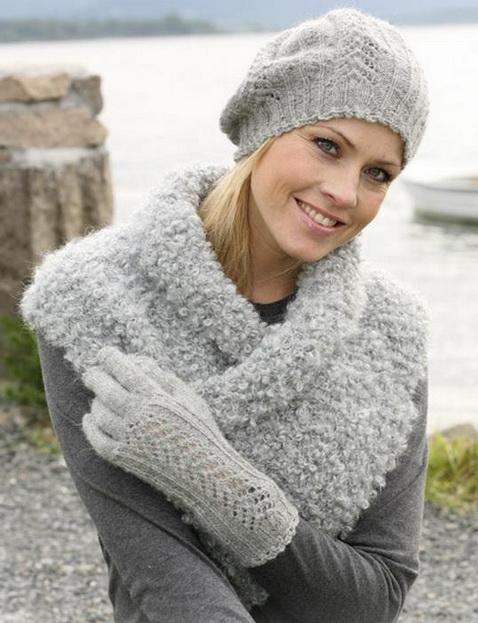 Вязание беретов спицами: