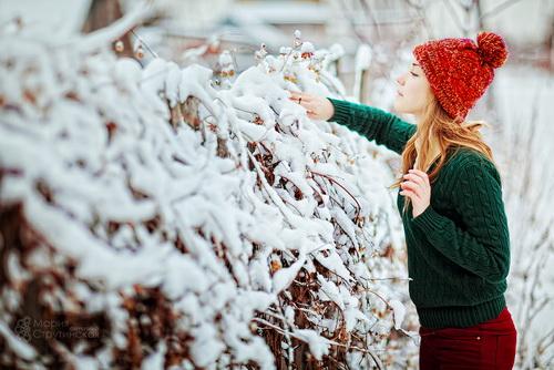 Фотосессия зимой идеи для