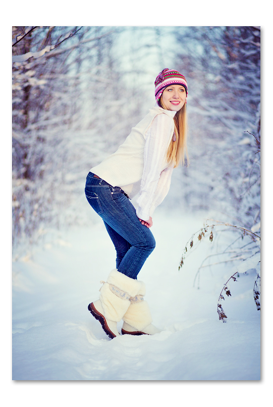 Идеи для девушек зимой