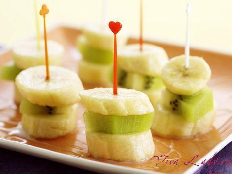 Красивая нарезка фруктов: