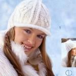 вязание кепки