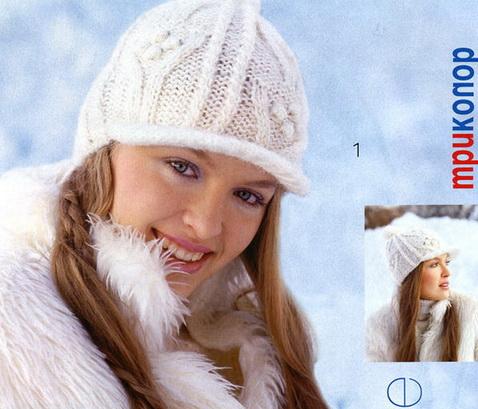 Вязание кепки.