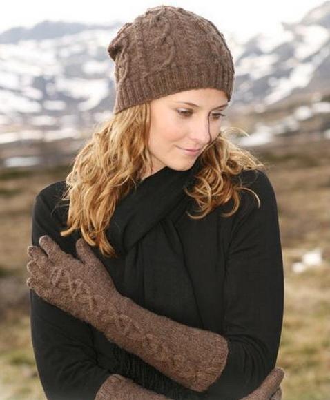 вязание спицами зимние шапки женские схемы. вязаные шапки фото