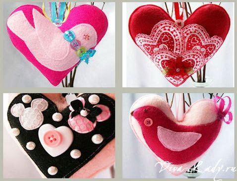 Подарки с днем валентина своими руками