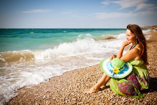 Идеи для фото девушек на море