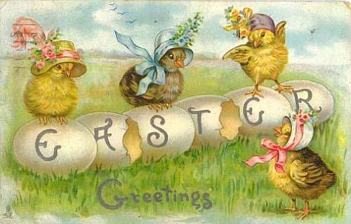 Красивые открытки с пасхой