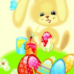 Easter vector 2