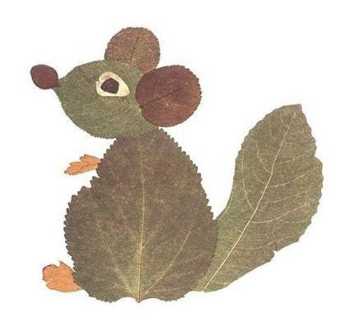 Поделки из листьев. поделки из листьев своими