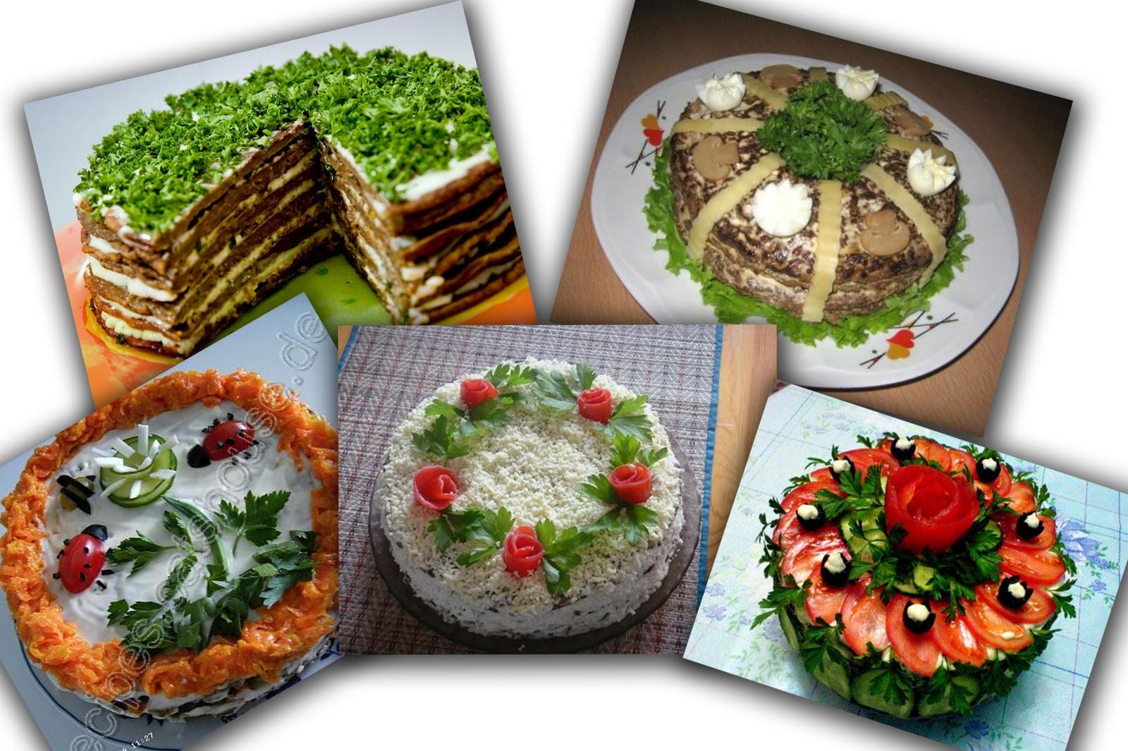 Оформление печеночного торта фото
