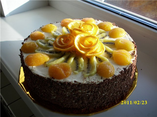 Как украсить торт в домашних условиях своими руками 87