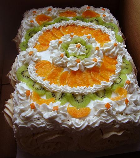 Украшение тортов фото