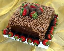 как красиво украсить торт в домашних условиях фото пошагово