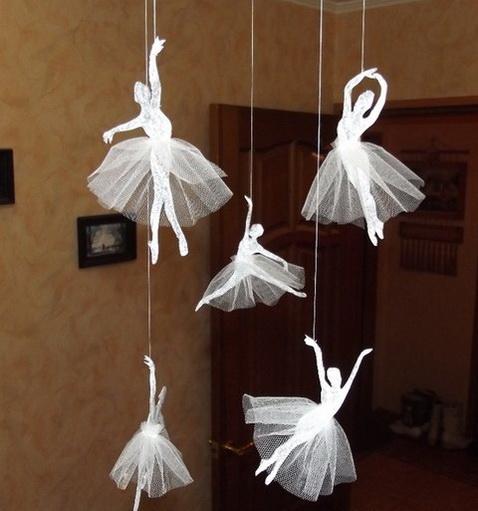 Балеринки из бумаги своими руками
